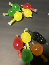 Dely-Gely TIK-TOK Fruit Jelly Fruit-Licious CANDY You Receive(5 Pz Sampler)
