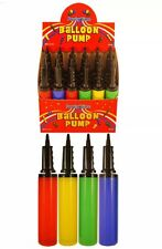 Balloon Air Pump 4 Birthday Parties Wedding Christmas Manual Hand Pump UK