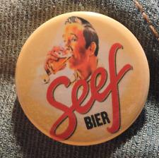 Pin Button Badge Ø38mm  Seef ( bière - Beer - Bier )