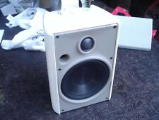 New listing 1 - Proficient Aw525wht Indoor/Outdoor White 2-Way Stereo Speaker w Bracket