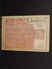 Iowa  Marshall County Map Marietta Township  c1920   W8#48