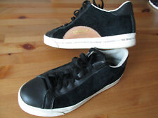 Adidas 'Rod Laver'  Mens Black Leather / Suede Trainers Size UK 7