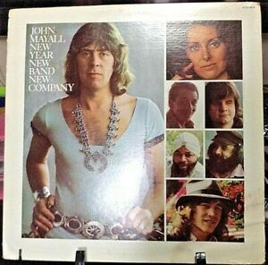 JOHN MAYALL New Year, New Band, New Comapny Album Released 1975 Vinyl/Record  Co