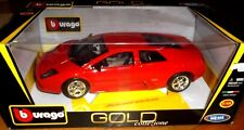 car 1/18 BBURAGO 18-12022 LAMBORGHINI MURCIELAGO 2001 RED NEW BOX