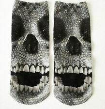 Socken Söckchen Sneakers Motiv Totenkopf Skull Diamond Damen Teenager unisex