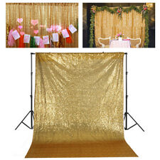 Gold Shimmer Sequin Curtain Photo Backdrop  Photo Booth Wall Wedding Background