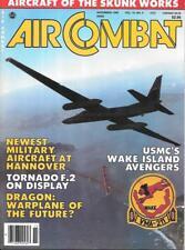 Air Combat Nov.1986 USMC Wake Island Avengers Skunk Works LHX Dragon VTOL Hornet