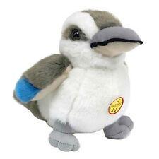 Jumbuck 17cm Kookaburra w/ Laugh Sound Plush Soft Cuddly Cute Stuffed Animal Toy