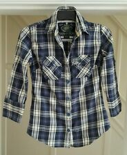 Superdry Cotton Checked Coats & Jackets for Women