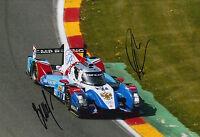 Shaitar, Ladygin Hand Signed SMP Racing 12x8 Photo Le Mans 2016.