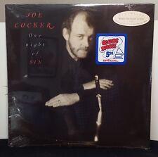 """JOE COCKER """"One Night Of Sin"""" original vinyl LP still SEALED"""