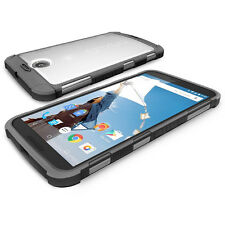 Poetic Affinity【TPU Grip Bumper】Case Cover For Google Nexus 6 CLR/BLK