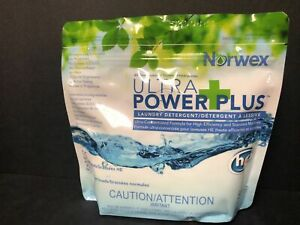 NORWEX ULTRA POWER PLUS LAUNDRY CLOTHING DETERGENT HE 1kg 2.2 LBS 100 LOADS