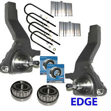 """4"""" LIFT SPINDLES 3"""" Blocks""""J""""2001-2011 FORD RANGER Only 2WD w/Bearings Truck 4x2"""