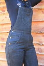 Damen NUBUK- Leder Latzhose Overall Hose Größe XL 50 Lederhose Catsuit 415