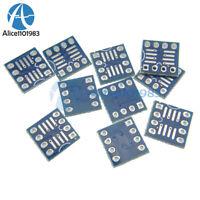 100PCS SOP8 SO8 SOIC8 TO DIP8  Interposer board pcb Board Adapter Plate