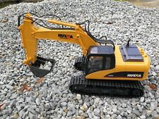 Au Store Remote Control HUINA 1:14 2.4G 15CH Die-Cast Tractor Excavator Digger