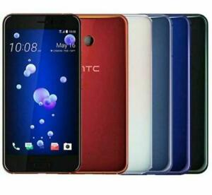 "Original HTC U11 LTE 128GB ROM Dual SIM 5.5"" GPS Wifi 12MP Android Smart Phone"