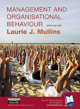 """VERY GOOD"" Management and Organisational Behaviour, Mullins, Laurie, Book"