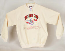 World Cup Soccer 1994 USA Mens Sweater XL Deadstock Made USA Vintage with Tags