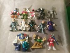 Lot of 13 Marvel DC PowerSuper Ranger Etc 3 inch Assorted Hasbro Mini Figures