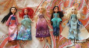 Disney Princess Dolls Bundle - 5 x Dolls - Used