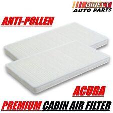 C15439 2pc Set HONDA / ACURA CABIN AIR FILTER CIVIC CRV ELEMENT CSX RSX