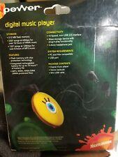 NIB Spongebob Digital Music Player MP3 / WMA Music Playback 512MB / 250 Songs