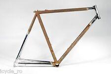 Vintage Rossin Bicycle Frame Columbus Steel 54cm Classic Road Bike NOS