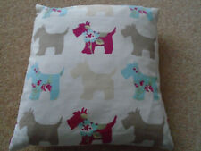 """RADLEY CUSHION FEATURING THE RADLEY DOGS IN EXCELLENT CONDITION 11x11"""""""