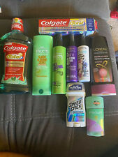 personal care bundle of 9 items, multiple brands