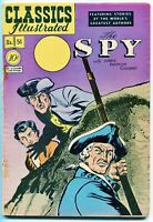 Classics Illustrated, The Spy #51, $0.10 - 1st Edition, (1b) HRN 51, VG