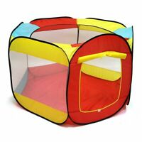 Kids Play House Ball Tent Indoor Outdoor Easy Folding Ball Pit Hideaway Play Hut