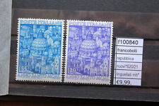 FRANCOBOLLI REPUBBLICA N°620/21 LINGUELLATI MH* (F100840)