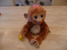 *****FURREAL FRIENDS PET CUDDLES MY GIGGLY MONKEY CHIMP INTERACTIVE TOY****