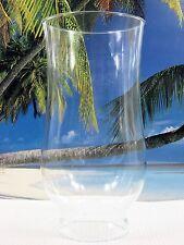 UNIQUE SHAPED BEVELED BOTTOM CLEAR GLASS CHIMNEY OIL KEROSENE OR ELECTRIC LAMPS