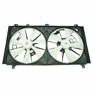 Radiator Dual Cooling Fan Assembly for 06-11 Lexus IS250