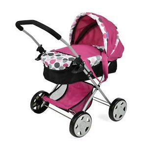 Hauck Dotty Diana Baby Doll Portable Pram Foldable Travel Buggy