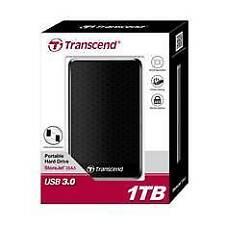 Disco duro externo HDD Transcend Storejet