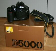 Fotocamera Nikon D5000 reflex digitale macchina fotografica corpo macchina + sd