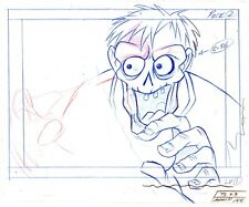 Tales from the Cryptkeeper Animation Production Hand Drawn Pencil Ec Comics 1993