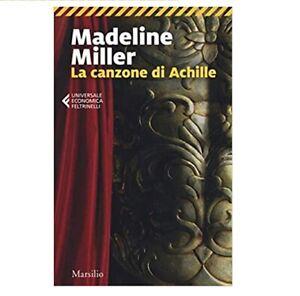 La canzone di Achille (Madeline Miller) NUOVO-SPEDIZIONE RAPIDA