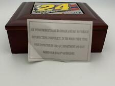 NASCAR #24 Keepsake Wooden Box Jeff Gordon Plaque on Top