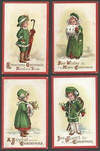 Embossed Christmas Postcards by Clapsaddle Series No.1211