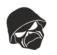 Iron Maiden Mask Vinyl Decal Sticker