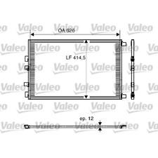 Kondensator Klimaanlage - Valeo 818002