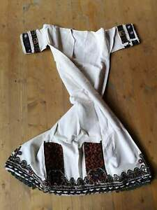 Antique long shirt from Bitola, dress from Bitola ethnic costume