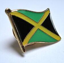 Jamaica Flag Lapel Pin Badge Superior High Quality Gloss Enamel