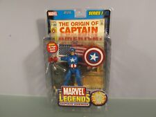 Marvel Legends Series I 1 Captain America Toy Biz Avengers