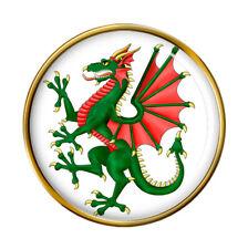 Rampant Dragon Lapel Pin Badge